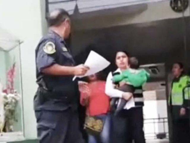 Menor de 11 meses que desapareció en parque de Ancón fue hallado en Huaral
