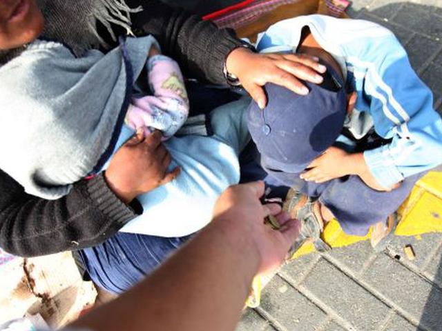 Casos de personas que usan a niños para mendigar se incrementaría por Navidad