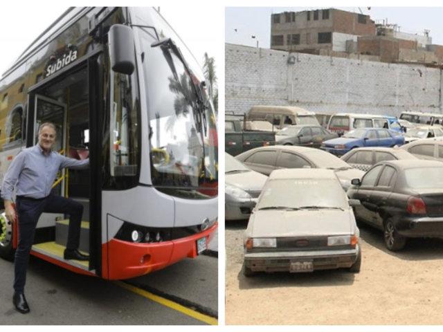 """Muñoz tras presentar primer bus eléctrico: """"Hacia esto tenemos que apuntar"""""""