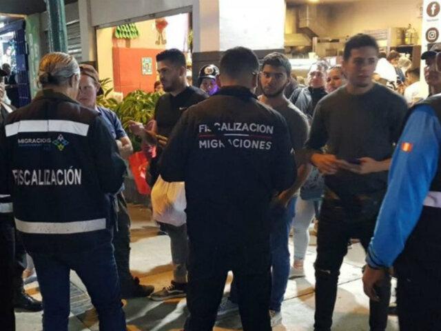 Magdalena: detienen a cinco extranjeros por no tener documentos en regla