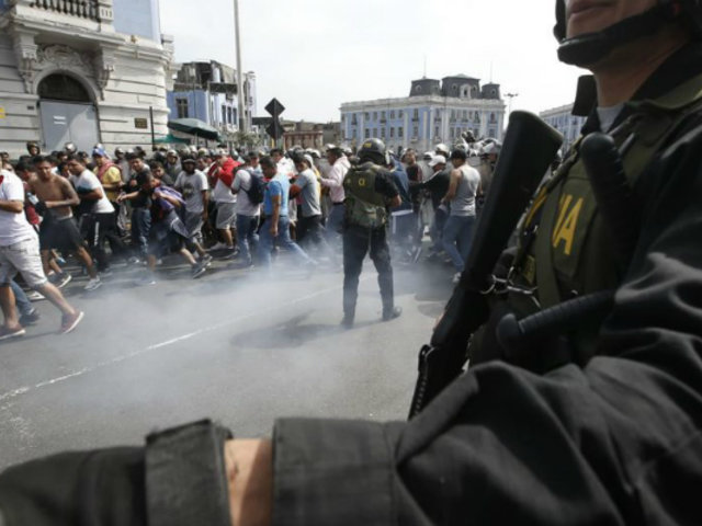 Mininter rechaza solicitud de garantías para protesta de colectiveros