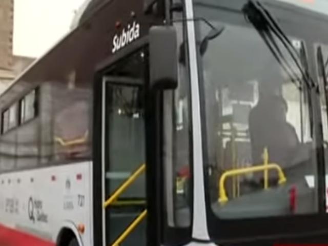 Corredor Rojo: así es el primer bus eléctrico que inició su recorrido
