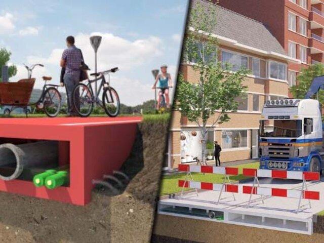 Holanda: crean carreteras con plástico reciclado