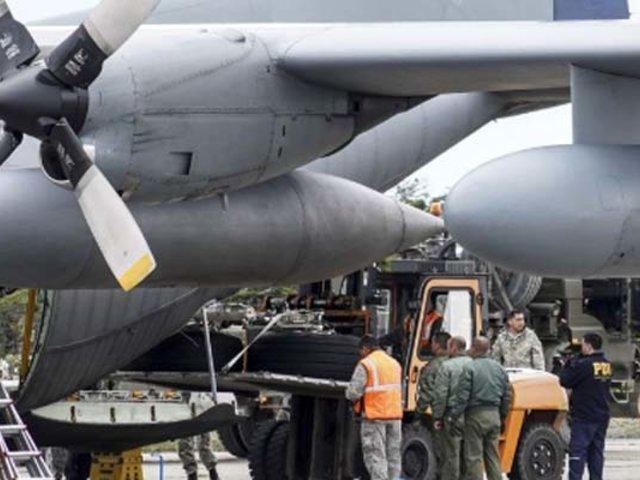 Chile: restos de víctimas del avión siniestrado llegan a Punta Arenas