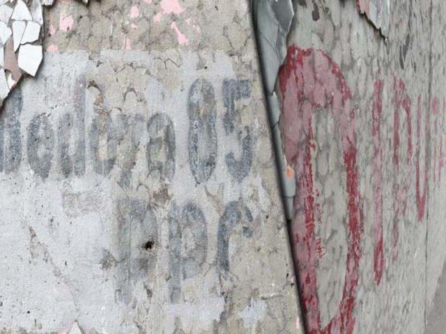 """Miraflores: propaganda """"fantasma"""" reapareció en la vía expresa de Paseo de la República"""