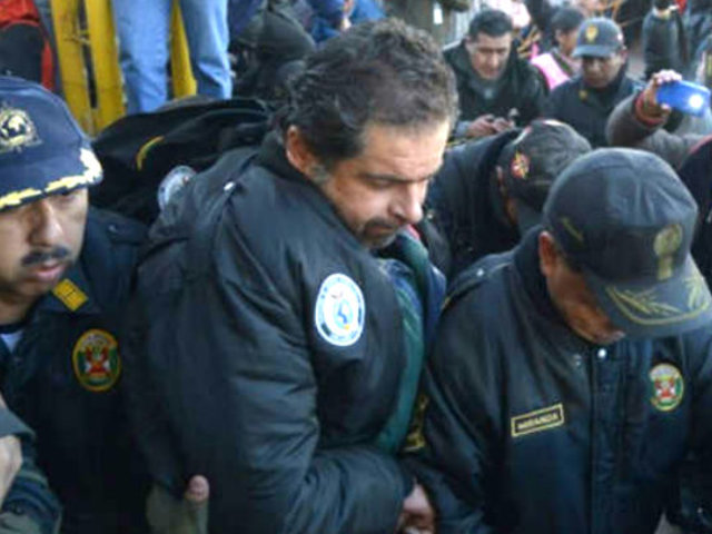 Martín Belaunde Lossio dejó el penal Ancón I