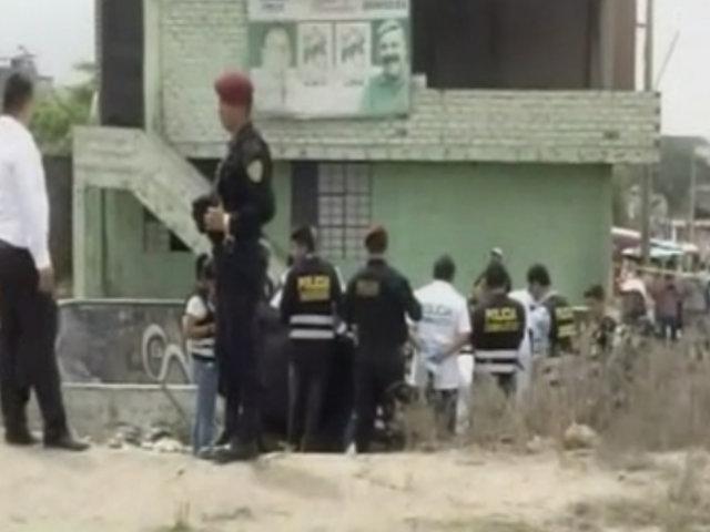 VMT: hallan dos cadáveres con impactos de bala en descampado