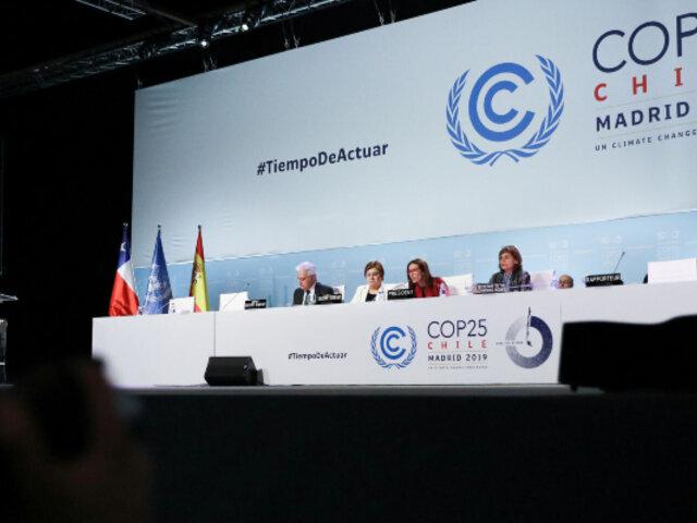 COP25 termina con un acuerdo de mínimos sobre el cambio climático