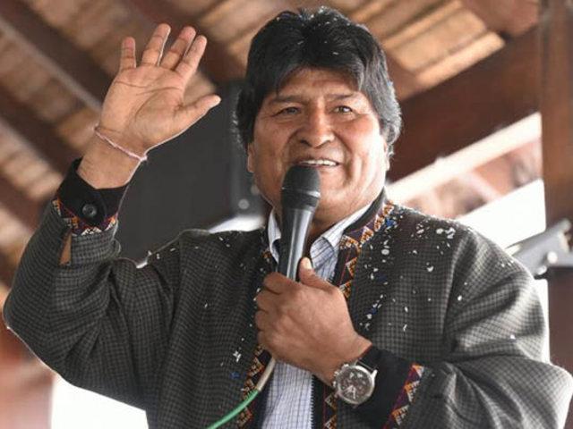 Evo Morales organiza campaña electoral del MAS desde Argentina