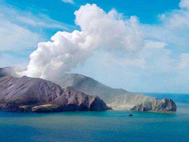 Nueva Zelanda: 16 personas perdieron la vida por la erupción del volcán Whakaari