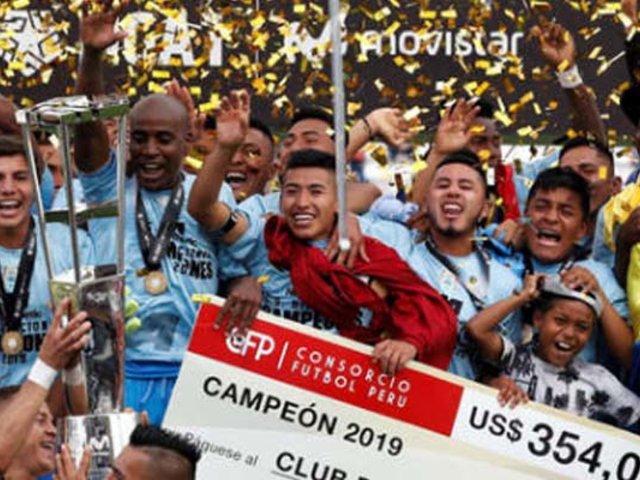 Binacional es el campeón del fútbol peruano