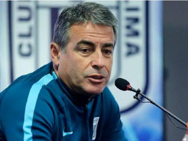 """Pablo Bengoechea: """"Pido disculpas a los hinchas de Alianza Lima"""