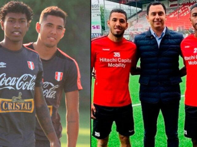 Sergio Peña y Miguel Araujo en el once ideal de la fecha de la Liga de Holanda