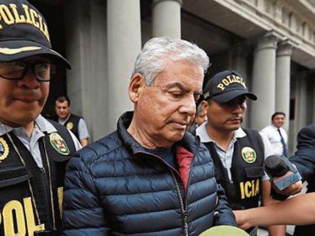 César Villanueva: INPE descarta que expremier sufrió crisis de salud en penal