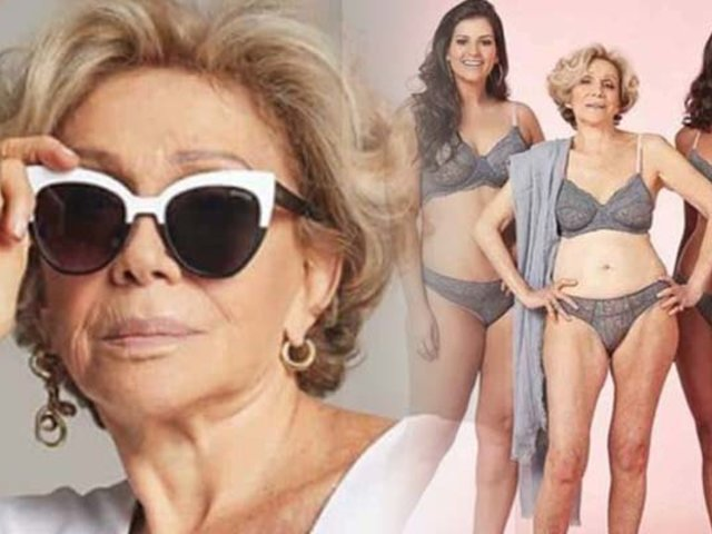 Brasil: conozca a la mujer que a sus 80 años es una exitosa modelo de lencería