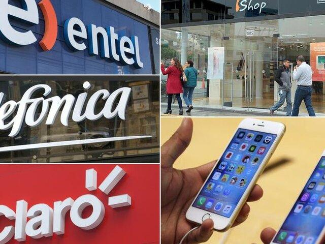 Indecopi multó a operadoras móviles por no informar sobre fallas en equipos Iphone