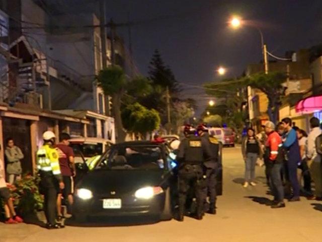 San Luis: policías se enfrentan a balazos a delincuentes que intentaron robar auto