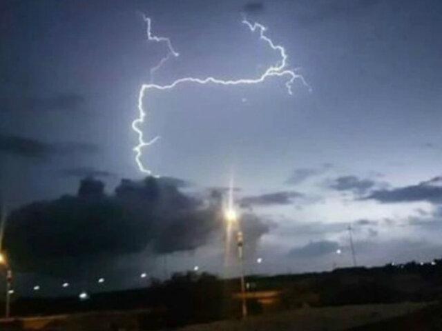 Áncash: hombre murió tras ser alcanzado por rayo durante tormenta eléctrica