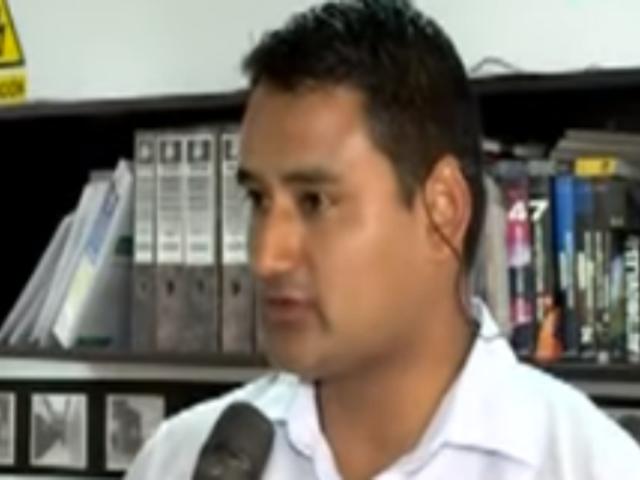 Profesor acusado de agredir a vigilante dio su versión