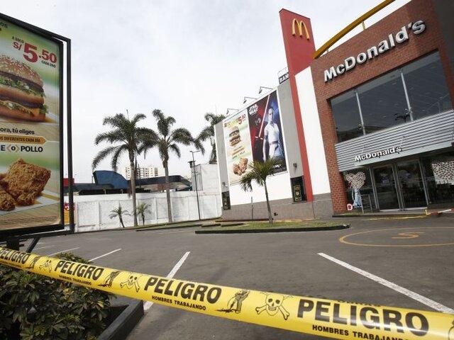 Pueblo Libre: archivan investigación por muerte de jóvenes en McDonald's