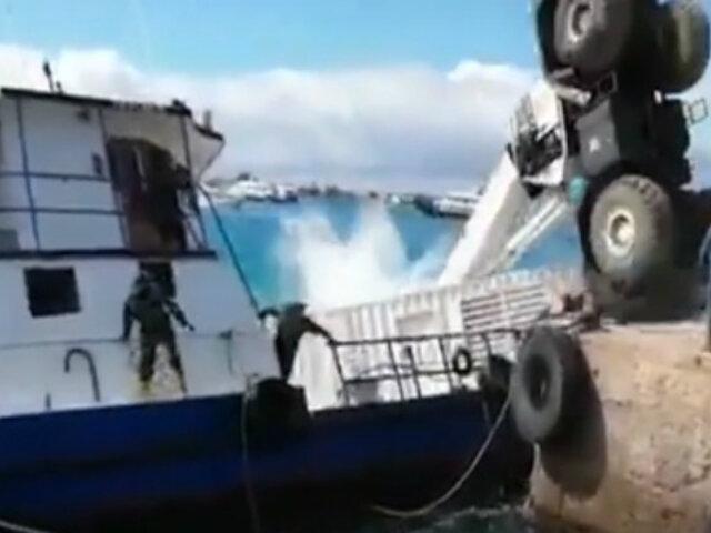 Ecuador: mala maniobra provocó derrame de combustible en Islas Galápagos