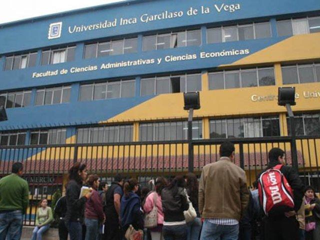 Sunedu multa a Universidad Inca Garcilaso de la Vega con más de 8 millones de soles