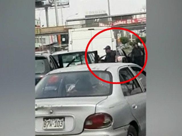 Asalto en San Miguel: se llevan furgoneta con carga valorizada en más de 300 mil soles