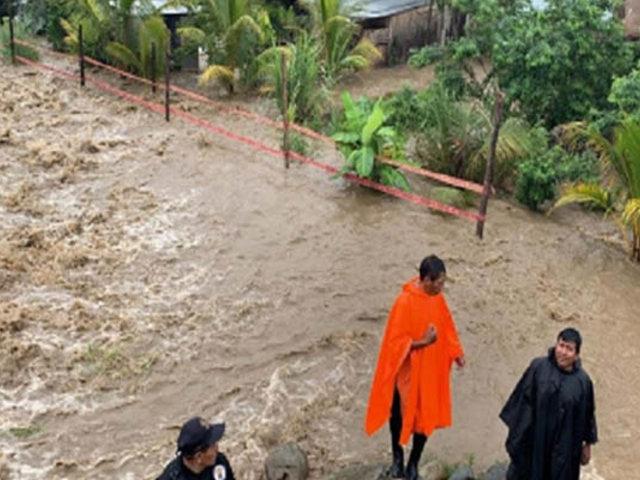 Desborde de río Kimbriri afectó 100 viviendas en el Cusco