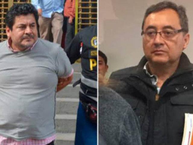 Caso Odebrecht: Jorge Cuba y Edwin Luyo fueron excarcelados