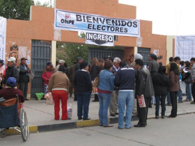 Elecciones 2020: local de votación será el mismo utilizado en proceso de referéndum