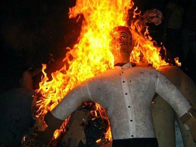 Magdalena: prohíben quema de muñecos en Año Nuevo