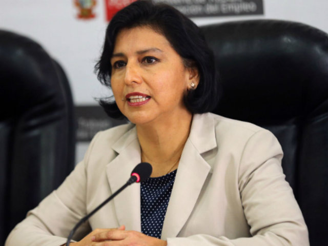 Coronavirus dejaría 240 mil desempleados, señala ministra de Trabajo