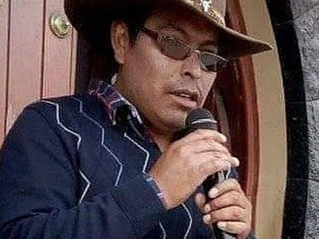 Arequipa: hallan sin vida a exregidor de Caylloma en su vehículo