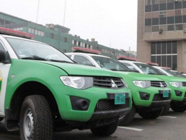 Fin de Año: Mincetur entrega camionetas a PNP para reforzar seguridad