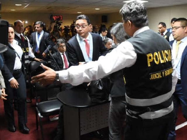 PJ rechazó pedido de prisión preventiva para Humberto Abanto