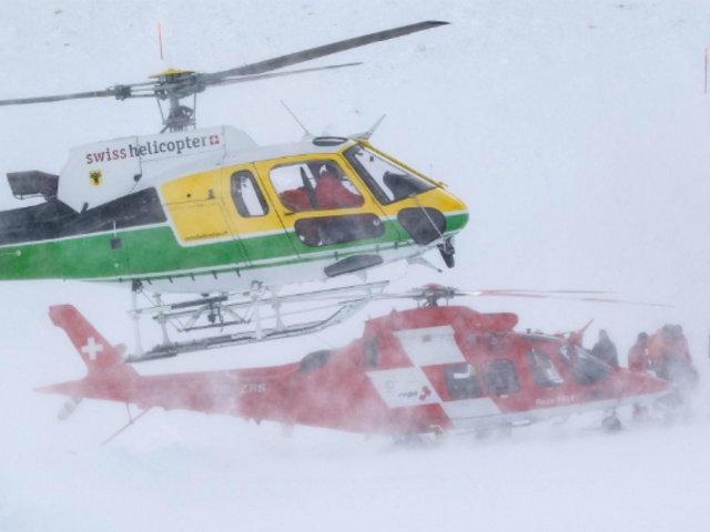 Suiza: dos personas resultaron heridas tras avalancha
