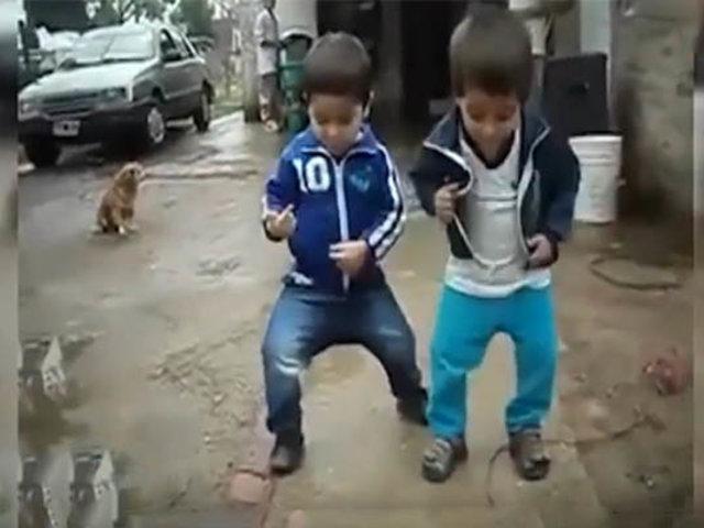 Talentosos niños realizan sorprendentes pasos de baile