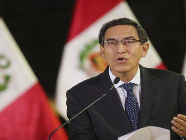 """Martín Vizcarra sobre demanda de Odebrecht: """"No te tenemos temor, vamos a ganarte"""""""