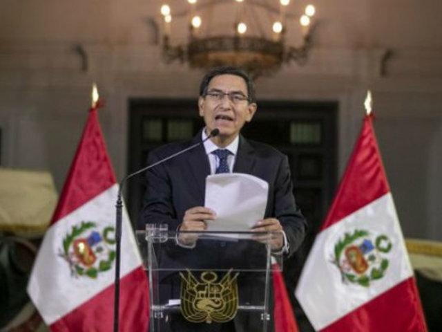 Sucedió en el 2019: Pormenores del aclamado cierre del Congreso por Martín Vizcarra