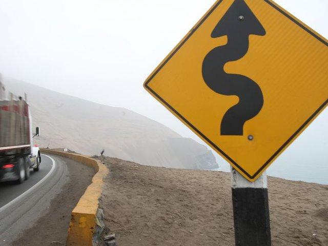 Serpentín de Pasamayo: restricción para vehículos continuará en el 2020