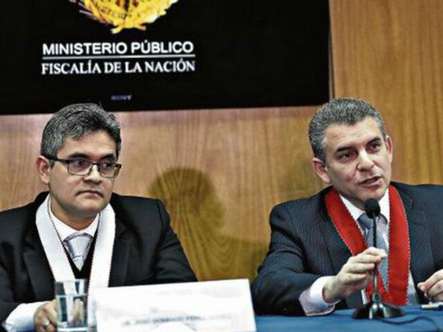 Sucedió en el 2019: Rafael Vela y José Domingo Pérez fueron ratificados en equipo Lava Jato
