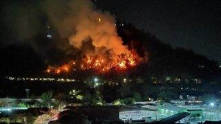 Voraz incendio se registró en un zoológico de Alemania