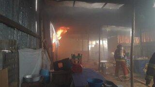 Cercado de Lima: incendio afectó varios locales de una galería