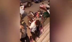 Carabayllo: hombre golpea brutalmente a su pareja y la deja en estado grave