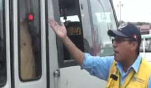 Surco: cobrador apresó a pasajeros durante operativo