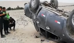 Tacna: dos muertos deja despiste de camioneta en carretera Costanera