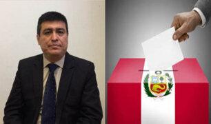 Ibo Urbiola: El voto debe ser para personajes que respondan a lo que el Perú necesita