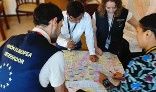 Elecciones 2020: Observadores de la UE definieron zonas de trabajo