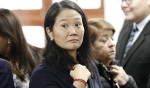 Consideran que Keiko sí puede postular a la presidencia de la República en 2021
