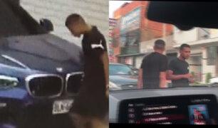 Los Olivos: Intentan robar lujosa camioneta pero son grabados por propietario de vehículo